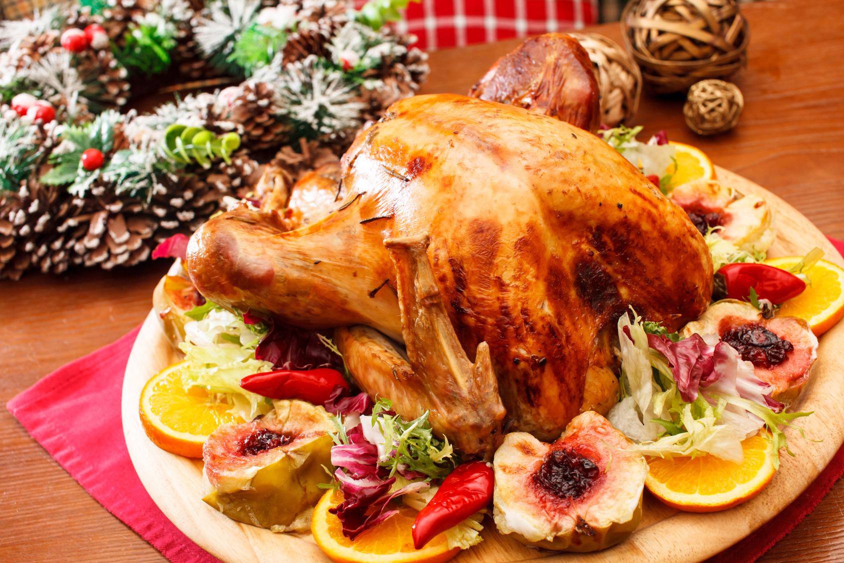 Resultado de imagem para peru e ave de festa na mesa